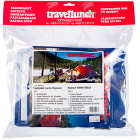 Travellunch Daypack Standard Outdoor Meal 7/10 Pieces Warm Regions